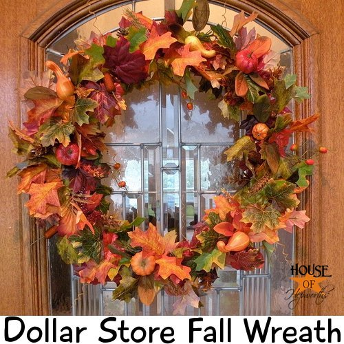 dollar store centerpiece ideas make your own fall wreath dollar store fall decor