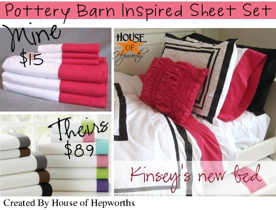 Interior Pbteen Make Your Own Bed pbteen inspired bed sheets diy tutorial bedding week i started with a set of basic white from wal mart they are only 200 thread count compared to pbteens 300 but hones