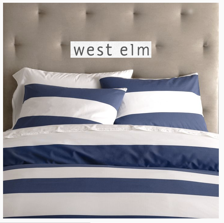 Fresh I actually ended up ordering this bedding from West Elm but fortunately while it was in route I stumbled upon this bedding at Target