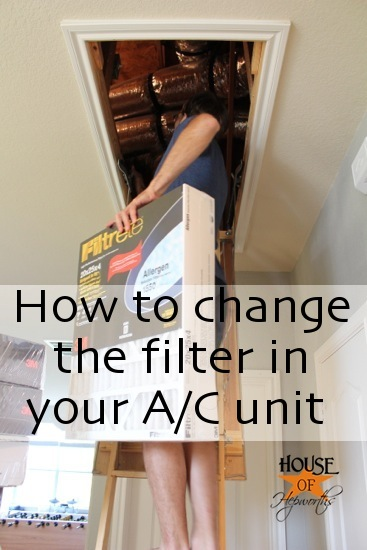 How to change the filter in your A/C unit. Do you even know you have a filter? www.houseofhepworths.com><br /> <a href=