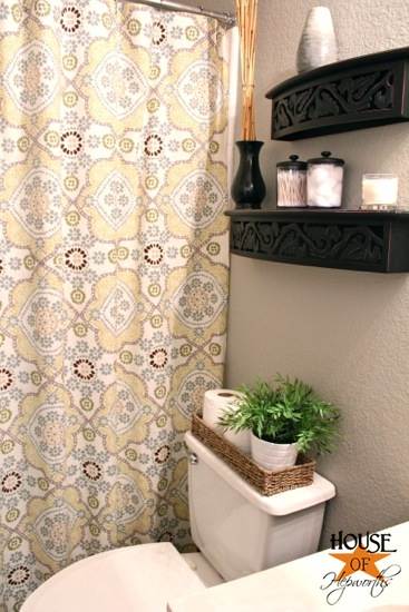 world market mosaic shower curtain