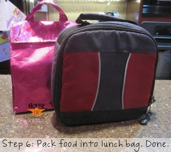Organizing 101 Organizing School Lunches Gluten Free