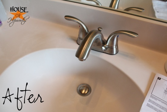 Bathroom and kitchen updates [6 new faucets]