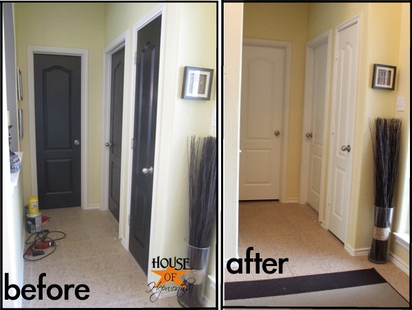 So tell me do you like black doors? & Most epically horrendous DIY disaster to date
