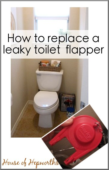 how to replace a leaky toilet flapper. Black Bedroom Furniture Sets. Home Design Ideas