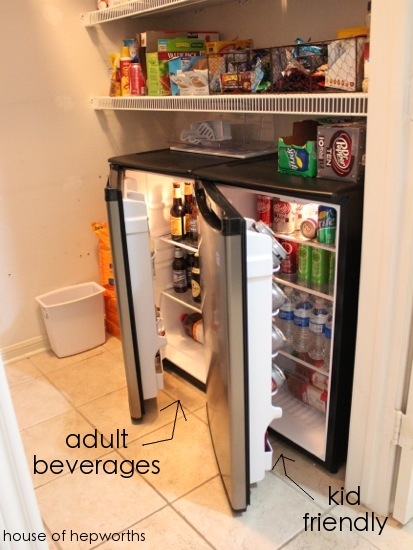 Ben and I are not big drinkers  In fact  we rarely drink alcohol except  maybe in an occasional social setting  However  our friends do drink. Our plans for the laundry room   a fun addition to the pantry