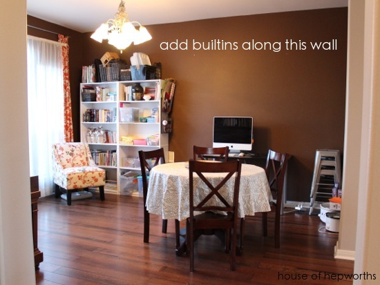 The multi purpose dining room for Purpose of a living room