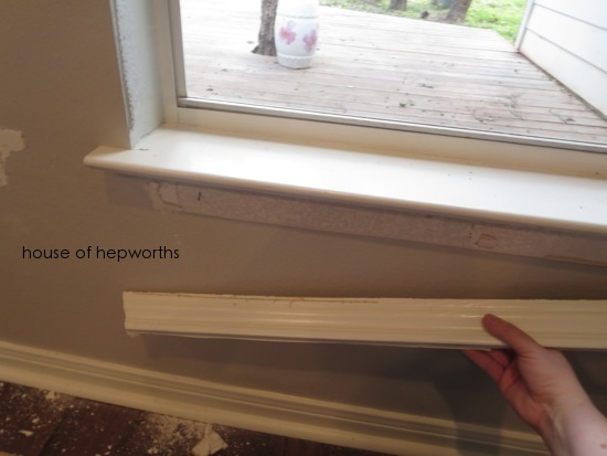 Superb Craftsman Style Moulding Makes Me Happy   Interior Window Sill Styles .
