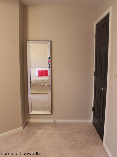 How To Hang A Heavy Full Length Leaner Mirror On The Wall