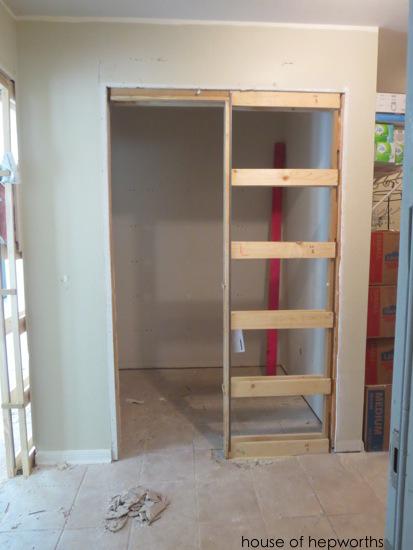 We Ve Got Pocket Doors Counter Height Walls And Under Cabinet Lighting