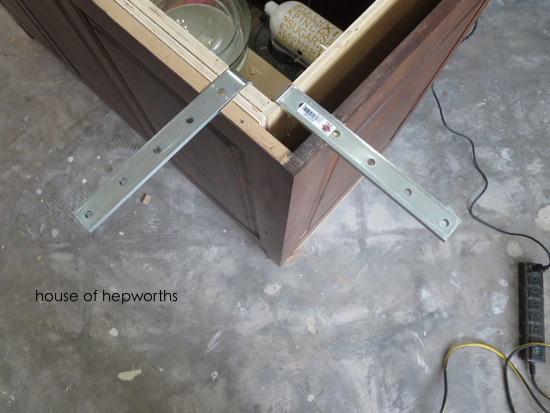 the making of a kitchen island ForGranite Overhang Without Support