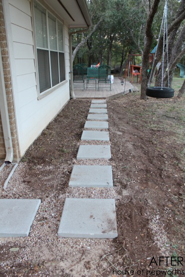 How To Lay A Paver Walkway