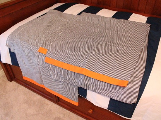 Curtains Ideas curtains made from bed sheets : 2 hacks: Ikea Bygel rails as curtain rods & bed sheets into curtains