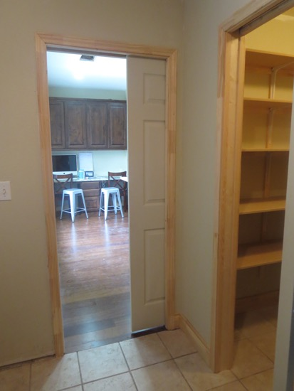 Pocket Doors Pantries And Canned Good Storage