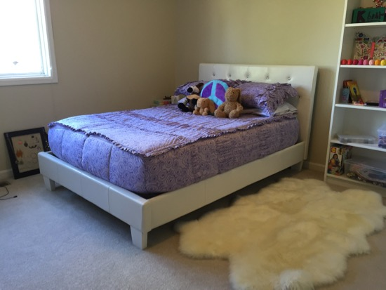 Superb It us not the greatest quality bed in the entire world you get what you pay for but it looks like leather is very soft and es with rhinestones