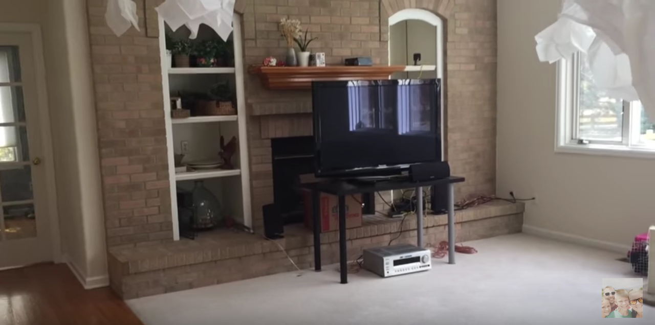 mounting a tv on brick above a fireplace