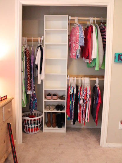 How To Build Your Own Closet Built Ins Using A Billy Bookcase IKEA Hack