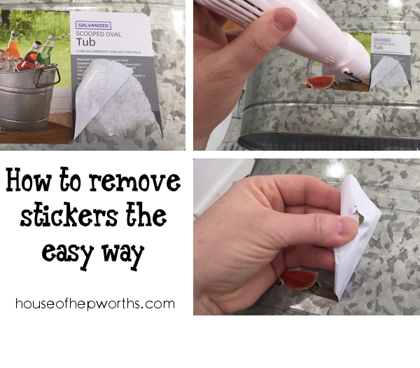 How To Remove Stickers The Easy Way
