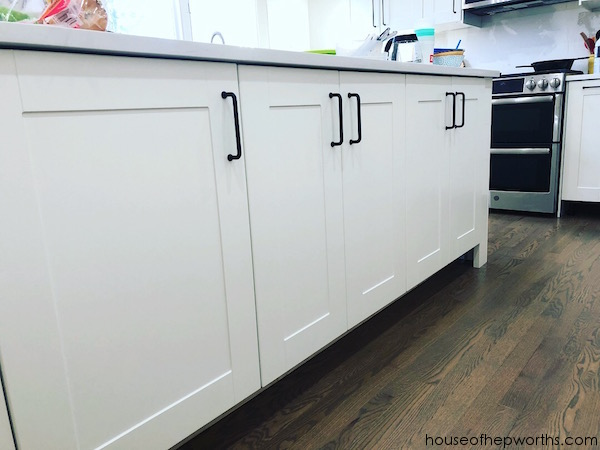 Kitchen Cabinet With Garbage Cans Are They Two Deep