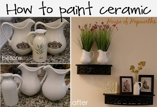 How To Paint Ceramic House Of Hepworths