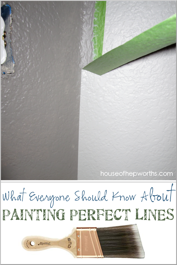 What Everyone Should Know About Painting Perfect Lines House Of