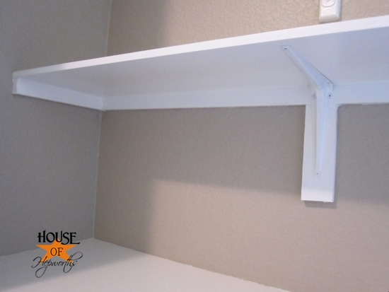how to build a shelving unit in a closet