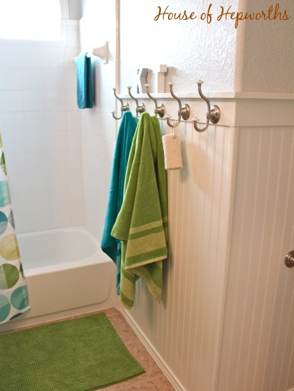 neutral kids bathroom check out the teal and grass green bathroom makeover 13804