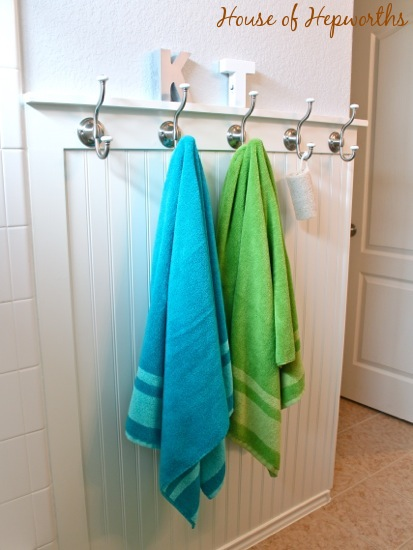 Teal And Gr Green Bathroom Makeover