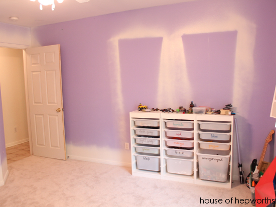 Slappin\' some paint on the walls - House of Hepworths