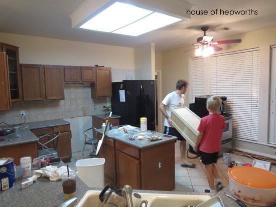 Let the kitchen demo begin! - House of Hepworths