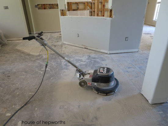 The Best Way To Remove Thinset From A Cement Foundation House Of - Air chisel tile removal