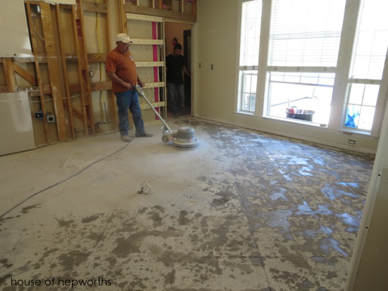 The Best Way To Remove Thinset From A Cement Foundation House Of - Cleaning dust after tile removal