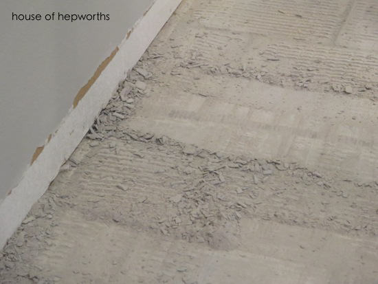 The Best Way To Remove Thinset From A Cement Foundation House Of Hepworths