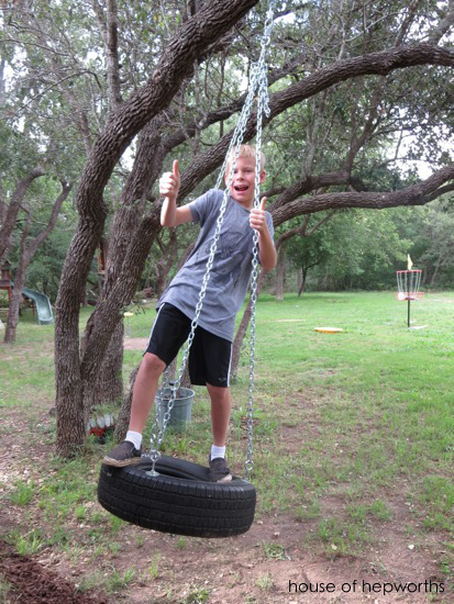 Build A Tire Swing House Of Hepworths