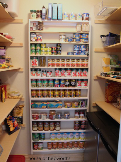 Pocket Doors Pantries And Canned Good Storage House Of