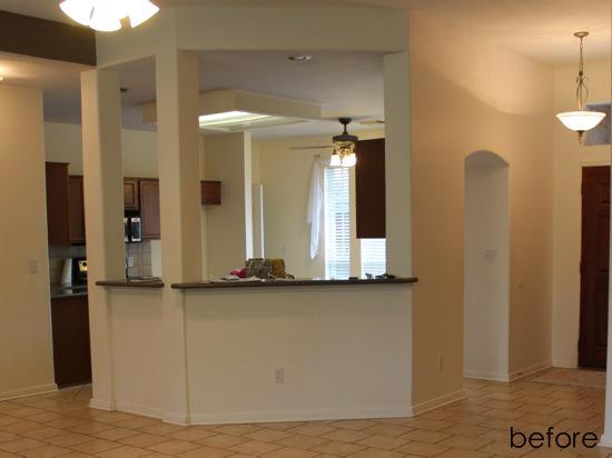 Stone Wall Kitchen Counter