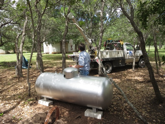 Installing our very own propane tank - House of Hepworths