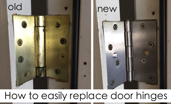 How To Easily Replace Door Hinges House Of Hepworths