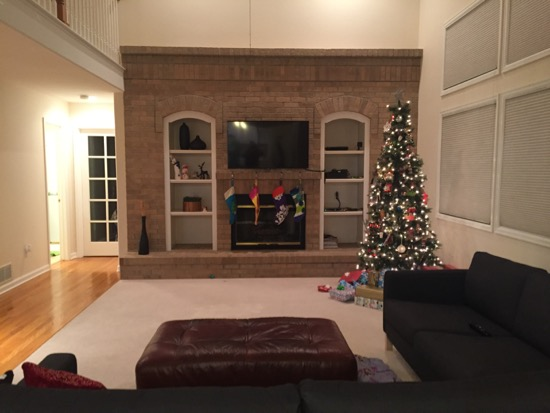 Mounting A Tv On Brick Above A Fireplace House Of Hepworths