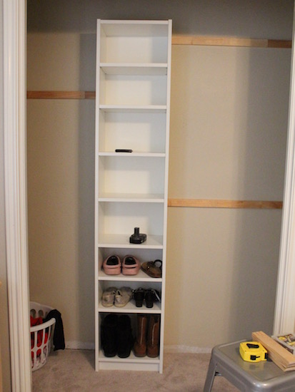 Superieur How To Build Your Own Closet Built Ins Using A Billy Bookcase (IKEA Hack)