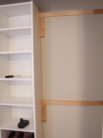 How To Build Your Own Closet Built Ins Using A Billy Bookcase (IKEA Hack)    House Of Hepworths