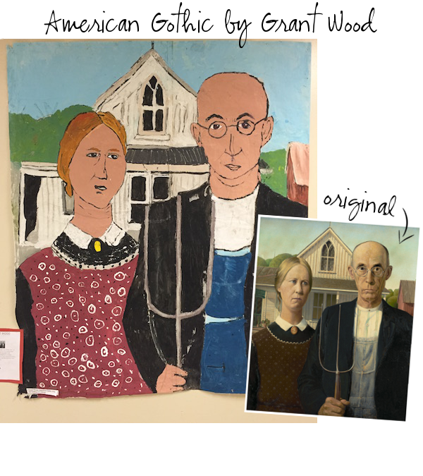 An American Classic Gothic By Grant Wood Is One Of The Most Recognized Copied And Widely Parodied Paintings In Pop Culture