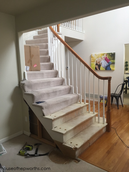 This Is A Huge Issue Because We Canu0027t Frame Out That Wall Unless We Push  Back The Stairs About 6 Inches. After Going Back And Forth For Months On  Whether Or ...