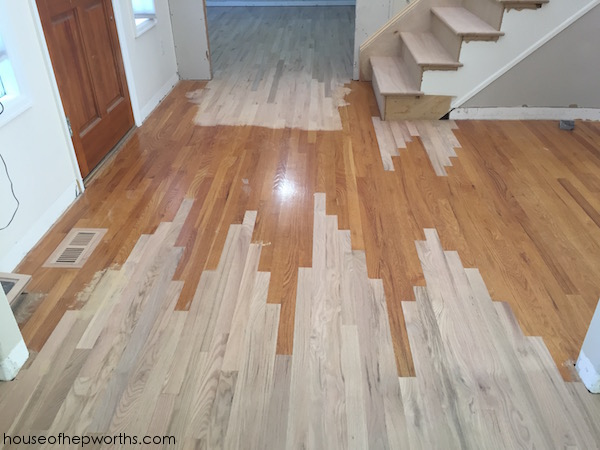 Refinishing hardwood floors, part 2