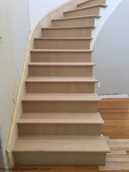 An Amazing Staircase Makeover From Carpet To Wood House