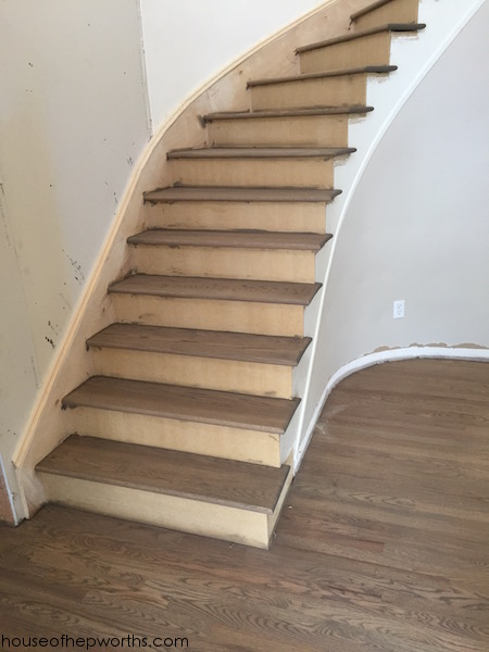 An amazing staircase makeover - from