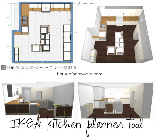 Building your own custom IKEA kitchen || the planning ...