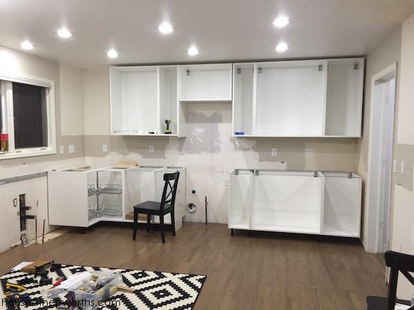 Stupendous Assembling And Installing Ikea Sektion Kitchen Cabinets Beutiful Home Inspiration Truamahrainfo