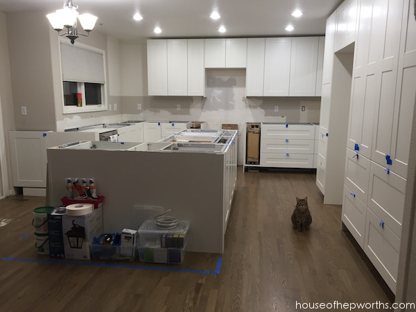 Installing IKEA quartz countertops - Frosty Carrina - House ...