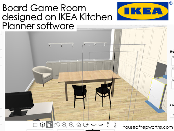 board game room ikea sektion www.houseofhepworths.com